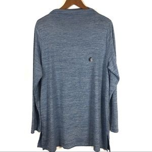 Lands End Blue Wave Pullover Tunic Size 1X